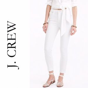 J. Crew Lookout High Rise Skinny Crop Jeans